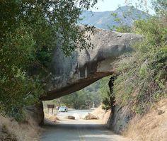 Rock Sequoia National Park