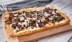 Fillo Ricotta and Mushroom Tart Pastry Recipes, Cookbook Recipes, Gourmet Recipes, Vegetarian Recipes, Dinner Recipes, Cooking Recipes, Chilli Recipes, Crockpot Recipes, Savory Tart