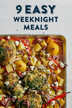 Quick Healthy Meals, Healthy Eats, Healthy Foods, Healthy Recipes, Awesome Food, Good Food, Yummy Food, Food To Go, Easy Weeknight Meals