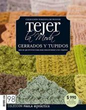 Tejer La Moda 098 - Cerrados y Tupidos - Melina Tejidos - Álbumes web de Picasa Knitting Magazine, Crochet Magazine, Crochet Chart, Knit Crochet, Crotchet Stitches, Knitting Patterns, Crochet Patterns, Crochet Books, Album