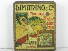 Dimitrino & Co. Cigarettes. Shepheard's Hotel