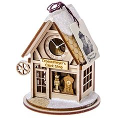 Drosselmeyer's Clock Shop Ornament
