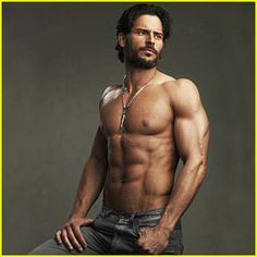 Joe Manganiello! a real man ;)