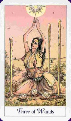 Three of Wands Tarot Card Meaning - ReadTarot.com - Learn to read Tarot cards and more!