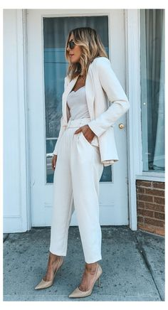 Chic Business Casual, Summer Business Casual Outfits, Business Professional Outfits, Fall Outfits For Work, Casual Chic, Business Attire, Smart Casual, Summer Outfits, Business Formal