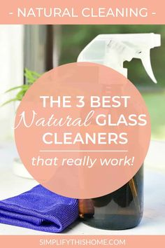 You don't need harmful chemicals to get sparkling clean mirrors and windows. In fact, these natural glass cleaners give a streak-free shine every time! Best Window Cleaner, Best Glass Cleaner, Homemade Shower Cleaner, Mirror Cleaner, Homemade Soaps, Mattress Cleaning, Car Cleaning, Cleaning Hacks, Green Cleaning