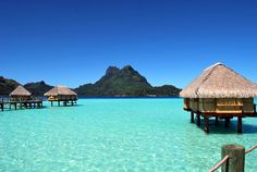 You need to visit Bora Bora! Look at this incredible view from the Pearl Beach Resort & Spa | boraboraphotos.com
