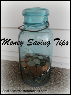 Growing resources list of money saving tips for all areas of life.