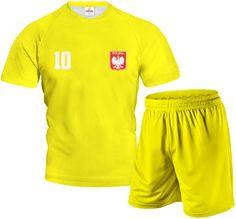 FULL COLOR Komplet Sportowy z Wlasnym Nadrukiem Żółty