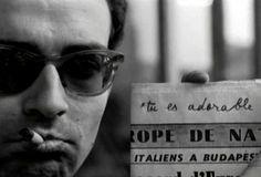 Jean-Luc Godard in Paris Nous Appartient (Paris belongs to Us) by Jacques Rivette, 1961