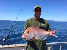 Capt Damo with a fat snapper