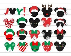 Check out our mickey christmas svg selection for the very best in unique or custom, handmade pieces from our digital shops. Disney Christmas Shirts, Disney World Christmas, Mickey Mouse Christmas, Grinch Christmas, Christmas Design, Christmas Crafts, Xmas, Disney Shirts, Noel