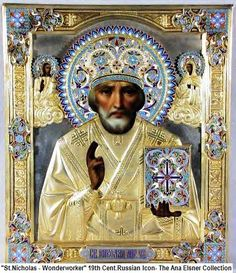 St Nicholas, 19C Russian