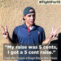 #RaiseTheWage #FightFor15 #UniteBlue