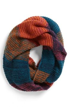 Great infinity scarf!  Comes in a few different color versions and $22.  Would make a great gift