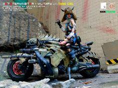 Calvin's Custom X GATE TOYS 1/6 OneSixthScale Original Design MOTOTERMIN8TOR Original Design by Calvin's Custom A GATE TOYS Production Available on KICKSTARTER Oct 2017  #Calvinscustom #GATETOYS #MOTOTERMINATOR #MOTOTERMIN8TOR #OneSixthScale #Motorcycle #CustomBikes #ActionFigures #Collectibles #TerminatorSalvation #Terminator #combatvehicle #motorcycledesign #armoredbike #TankGirl
