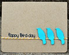 Awesome Happy Bird-day card