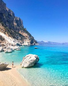 Cala Goloritzè - Italy. Beautiful beaches and wonders galore! www.thetravelstation.com