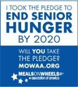 Meals on Wheels End Senior Hunger by 2020 Pledge
