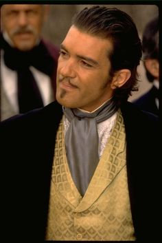 Zorro. If I could be any hero, it would be him. Or Captain Jack. Or Legolas.  Ok, Zorro's in the top ten, at least. Antonio Banderas Gorgeous
