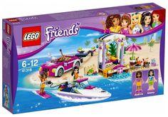LEGO Friends 41316 : Andrea's Speedboat Transporter - Juin 2017
