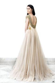 Mariza's wedding gown, Krikor Jabotian