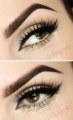 Maxineczka na bis! : Makijaż CHANEL Haute Couture SS14 - KRESKA I BROKAT #Hair-Beauty
