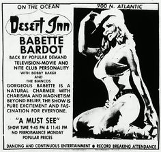 Babette Bardot, Russ Meyer Alumni and Daytona Beach haunter.
