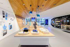 O2 Live Concept Store by hartmannvonsiebenthal, Berlin » Retail Design Blog