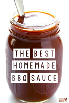 Homemade Kansas City BBQ Sauce: 1 (15 oz.) can tomato sauce 1/2 cup apple cider vinegar 1/3 cup honey or agave nectar 1/4 cup tomato paste 1/4 cup molasses 3 Tbsp. worcestershire 2 tsp. liquid smoke* 1 tsp. smoked paprika 1 tsp. garlic powder 1/2 tsp. freshly-ground black pepper 1/2 tsp. onion powder 1/2 tsp. salt (optional: a few pinches of cayenne powder for extra heat, which I recommend)