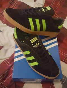 Adidas Bermuda 2017 black/green colourway