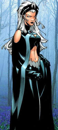 Storm!!!! She is my favorite X-men character!!!!