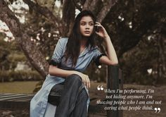 Field of Dreams featuring Ylona Garcia - Star Style PH Ylona Garcia, Field Of Dreams, 14 Year Old, Star Fashion, Interview, Singer, Goals, Actresses, Makeup