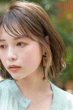 Japanese Haircut, Japanese Hairstyles, Pretty Hairstyles, Wig Hairstyles, Peekaboo Highlights, Asian Hair, Hair Inspiration, Wigs, Short Hair Styles