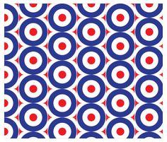 Patri-MOD-ic fabric by dahbeedo on Spoonflower - custom fabric