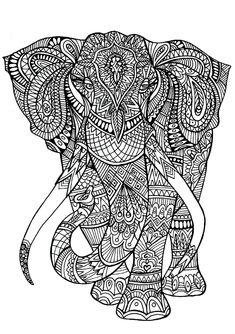printable-elephants-on-elephants-900x1277.jpg (900×1277)