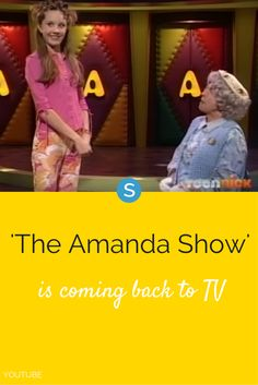 TeenNick is bringing back the '90s throwback 'The Amanda Show' to a new generation of kids.