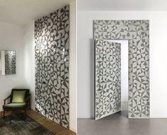 Apresentada na #FeiraDeMilão2016 o Boisè é um novo conceito de painel de madeira com porta integrada (by BP Arquitetos para ALBED). #arquitetura #porta #door #arquiteturaeinteriores #feirademilão #isaloni2016 #milandesignweek #boiserie #moucharabieh #painel #decoraçãodeinteriores #interiordesign #design #designdeinteriores #geométrica #parede #wall #paredegeométrica #pinturageométrica #milão #milano by elaynnesouza.arquitetura