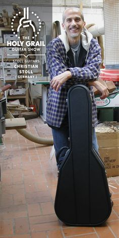 Exhibitor at The Holy Grail Guitar Show 2014: Christian Stoll, Stoll Guitars, Germany http://www.stollguitars.de https://www.facebook.com/stollguitars http://holygrailguitarshow.com