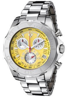 Price:$299.99 #watches SWISS LEGEND T8010-77, With a detailed facade displaying multi-functional subdials, this Swiss Legend Tungsten Pro chronograph is style built with precision.