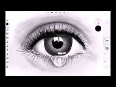 realistic eye speed drawing sketchbook pro for android samsung galaxy note 2014 edition s-pen