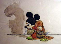Concept piece from Disney Studios Fantasia (1940)