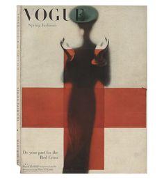 Couverture de Vogue US, 15 mars 1945