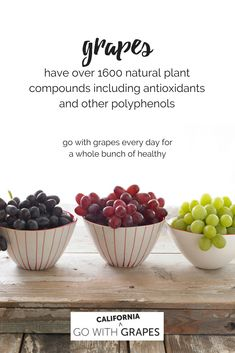 5638ebab300 Go with California grapes every day for a whole bunch of healthy. Discover  why grapes are very