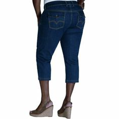Levi's 515 Cuffed Denim Capris - Women's | Spring & Summer Fashion ...