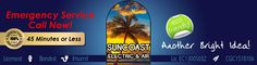 SUNCOAST Electric and Air is a full service repair and installation company. Trusted partners for your family and business. ALL Sun coast Electric and Air technicians are fully licensed and insured for all Electrical, Air Conditioning, and General Contracting services.  http://www.suncoastelectricandair.com/