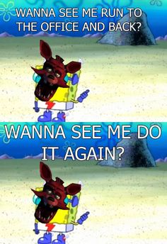 Gotta go fast; just like Foxy ? xD