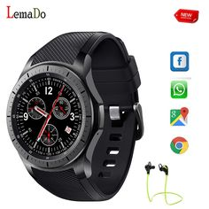 94.79$  Buy here - http://aliznd.worldwells.pw/go.php?t=32744771949 - Lemado LF16 wristwatch New Android Bluetooth Smart Watch For Android IOS Phone watch SIM Card Watch PK LEM3  94.79$