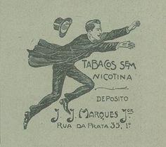 Publicidade ao tabaco do depósito J. J. Marques (in: Ilustração Portuguesa, n.º 73, 27 Março 1905)  link da publicação: hemerotecadigital.cm-lisboa.pt/OBRAS/IlustracaoPort/IP3.htm  link da página: hemerotecadigital.cm-lisboa.pt/OBRAS/IlustracaoPort/1905/...