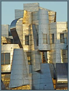 The Weisman Art Museum on the Minneapolis Campus of the University of Minnesota. (Photo by Timothy Johnson, 2005)    Housed in a striking stainless steel and brick building designed by architect Frank Gehry.